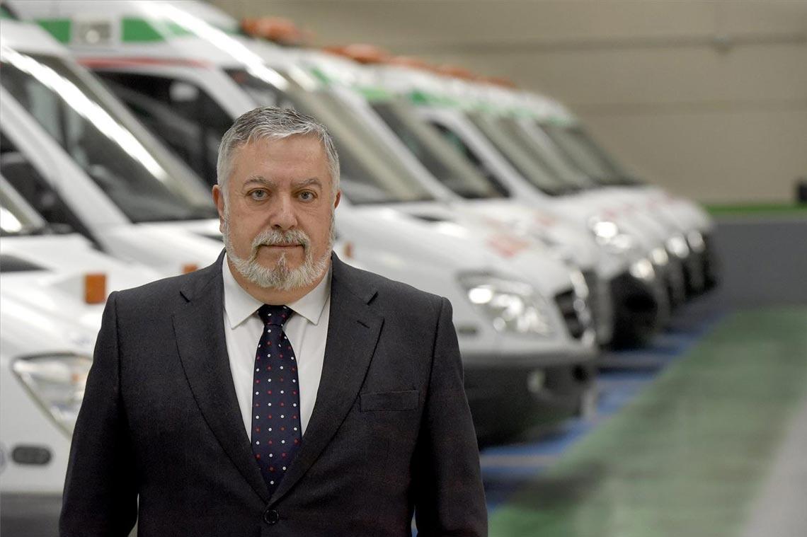 Juan De Dios CEO de Ambulancias Castellón